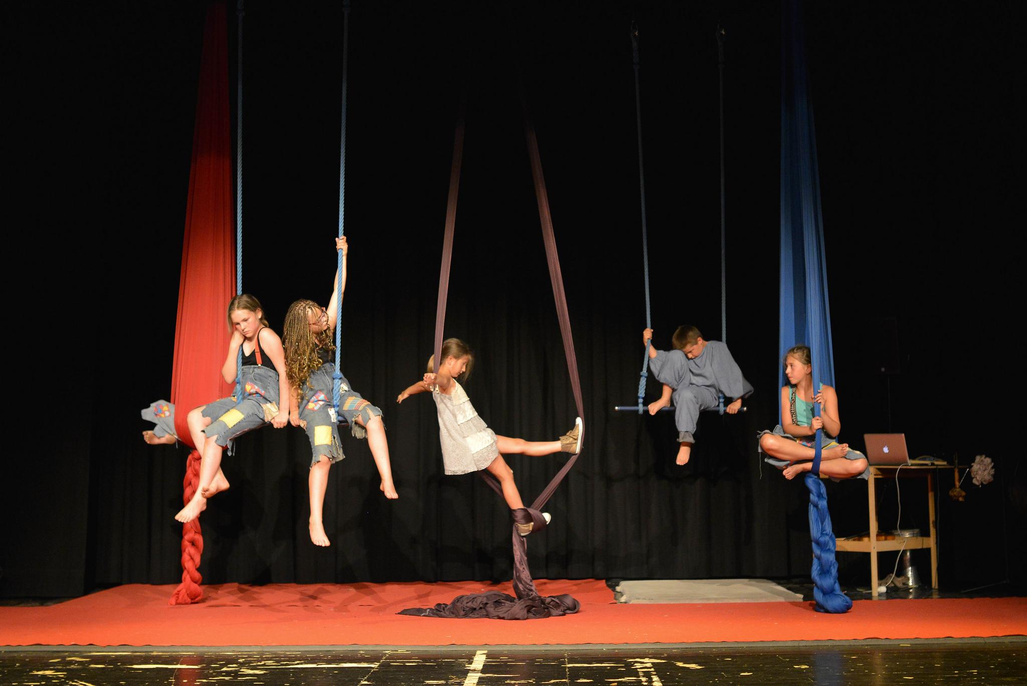 Stage de cirque pour enfants LE 28 JANVIER 2017